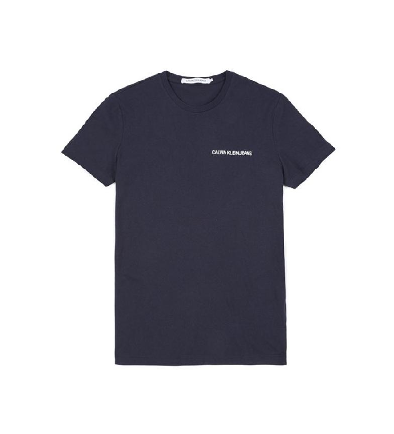 Comprar Calvin Klein Chest Institutional Slim T-shirt navy