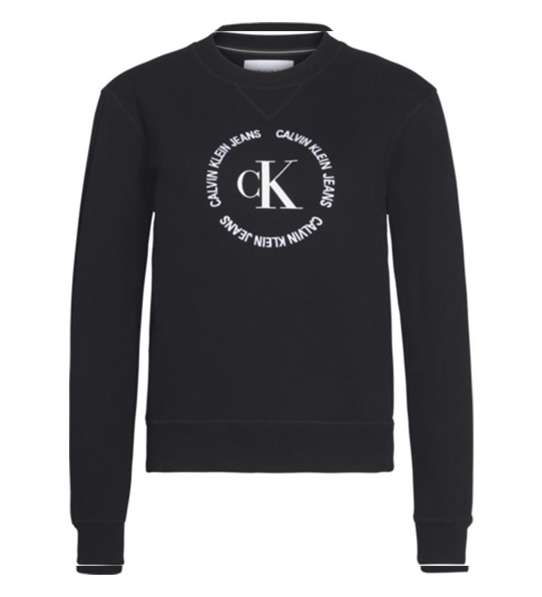 Comprar Calvin Klein Sweatshirt CK rond avec logo noir