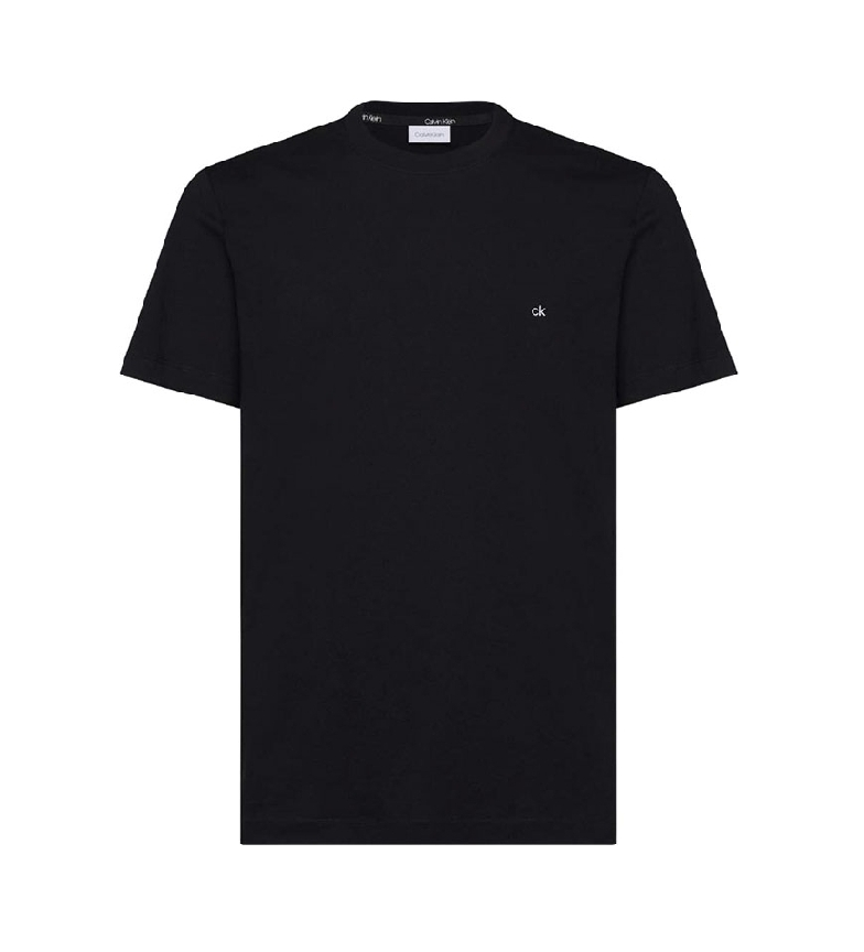 Comprar Calvin Klein Logo Embroidery Cotton T-shirt black