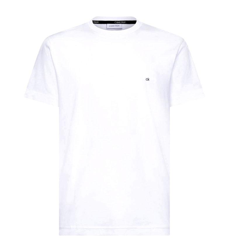 Comprar Calvin Klein T-shirt de algodão Logotipo Bordado branco