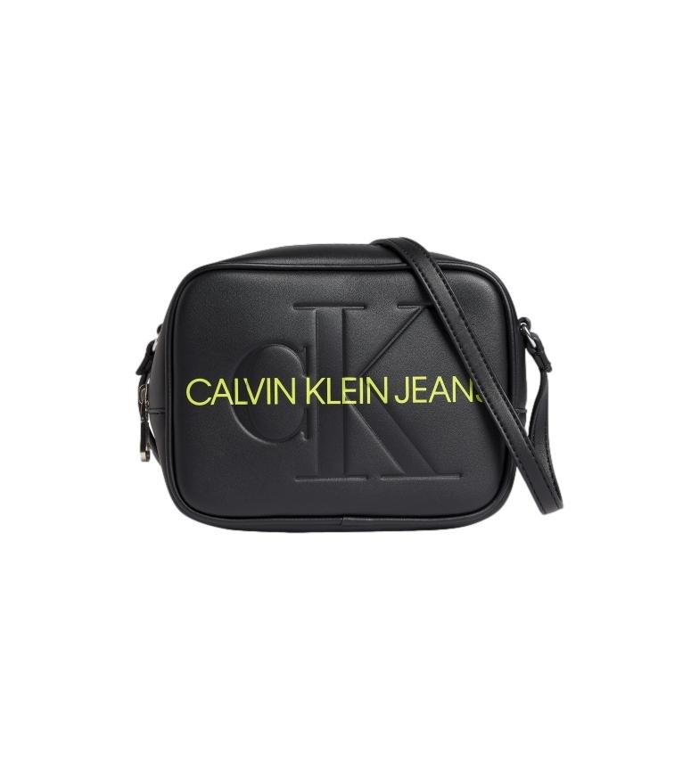 Calvin Klein Bandolera K60K608373 negro -13x18x7cm-