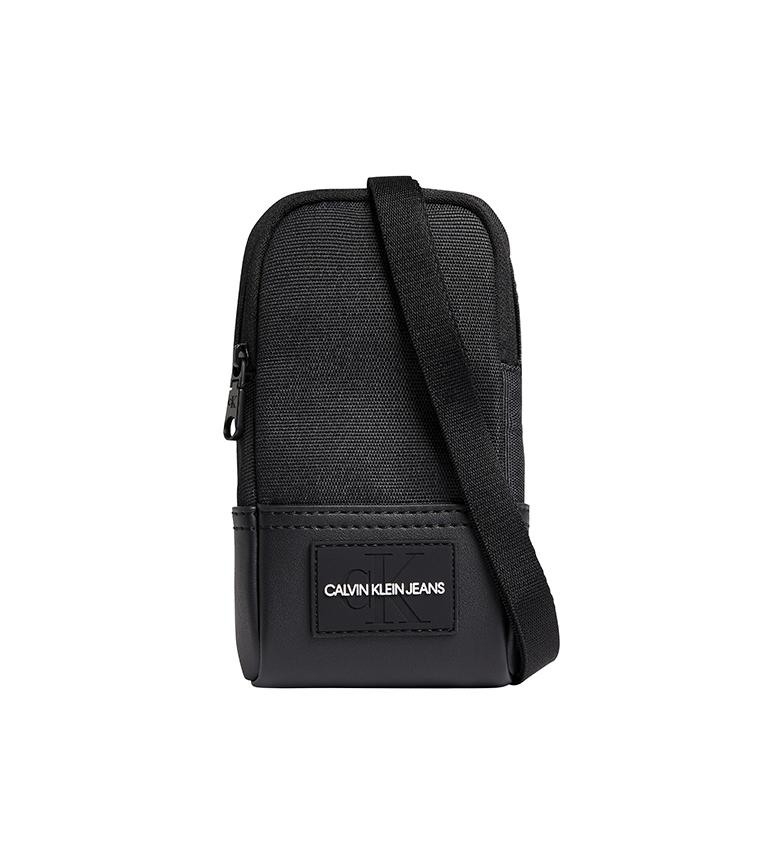 Calvin Klein Mini Crossbody Bag iPhone Pouch black -18x9,5x3cm