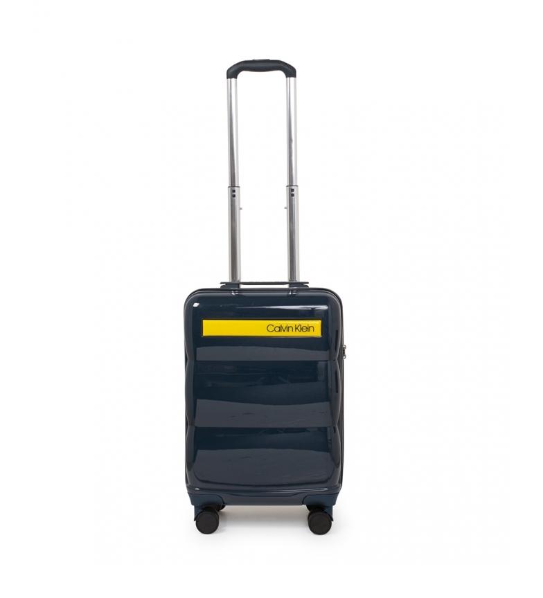 Comprar Calvin Klein Maleta cabina Down To Fly azul -54x34,3x21,6cm-