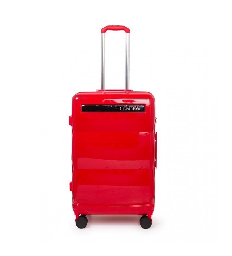 Comprar Calvin Klein Maleta média Vermelha Down To Fly -69x45x26,5cm