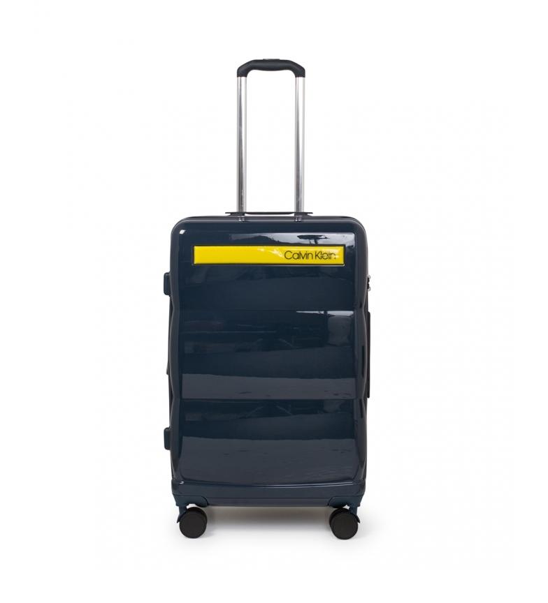 Comprar Calvin Klein Medium suitcase Down To Fly blue -69x45x26,5cm