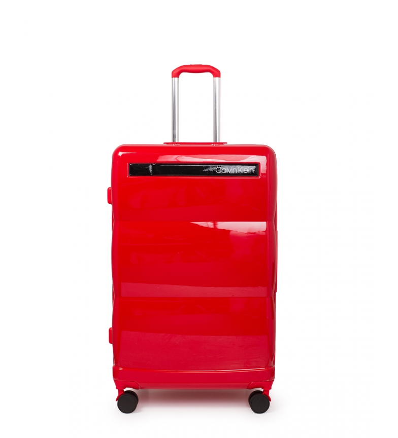 Comprar Calvin Klein Mala grande para voar vermelha -78,5x51,5x30,5cm