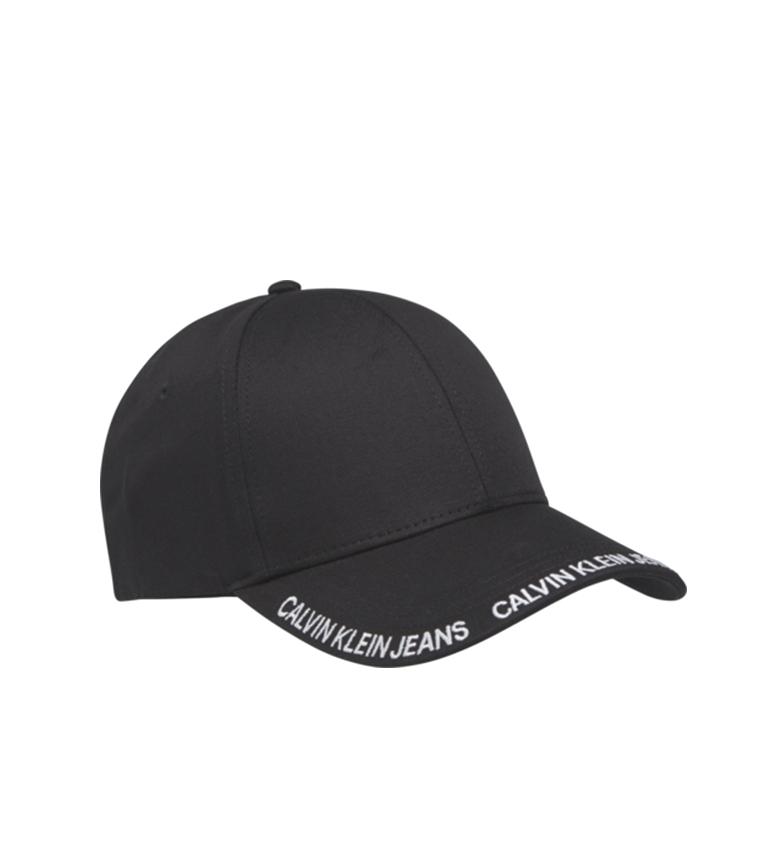 Comprar Calvin Klein Gorra CKJ Visor negro