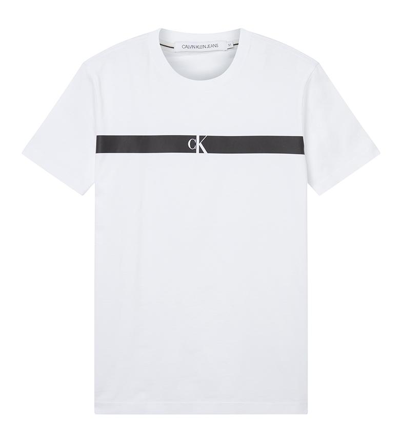 Comprar Calvin Klein CK Horizontal T-Shirt White Panel