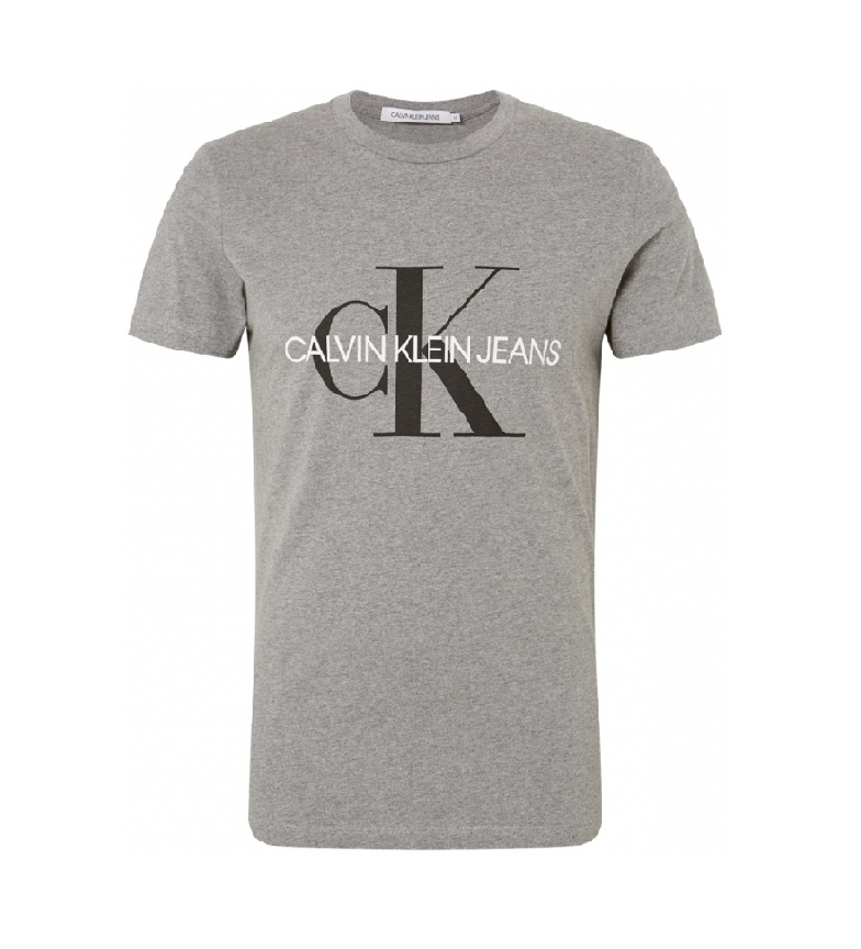 Comprar Calvin Klein Iconic Monogram Slim T-shirt grey