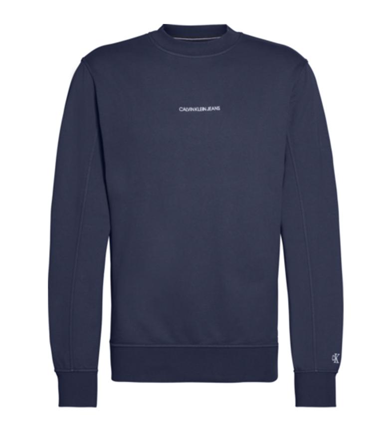 Comprar Calvin Klein Instint Chest Logo sweat-shirt marin