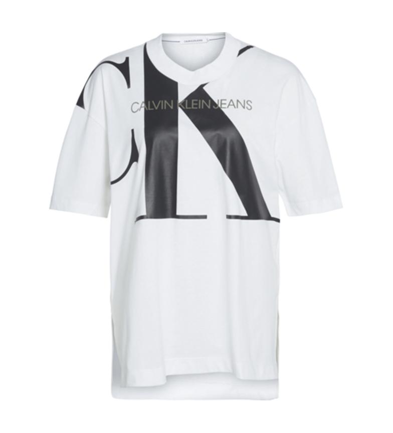 Comprar Calvin Klein T-shirt Grand CK Tunique blanche