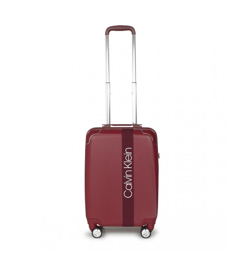 Comprar Calvin Klein Mala cabine Madison Avenue maroon -54x35,6x22,8cm
