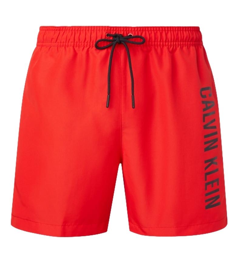 Comprar Calvin Klein Costume intero rosso con coulisse medio