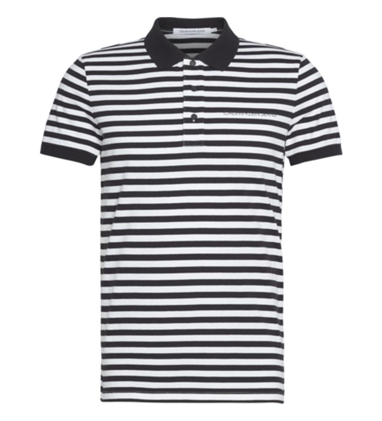 Comprar Calvin Klein Polo Mini Stripe gris