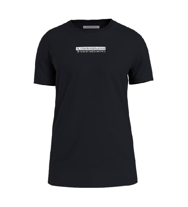 Calvin Klein Mirror Logo T-shirt black