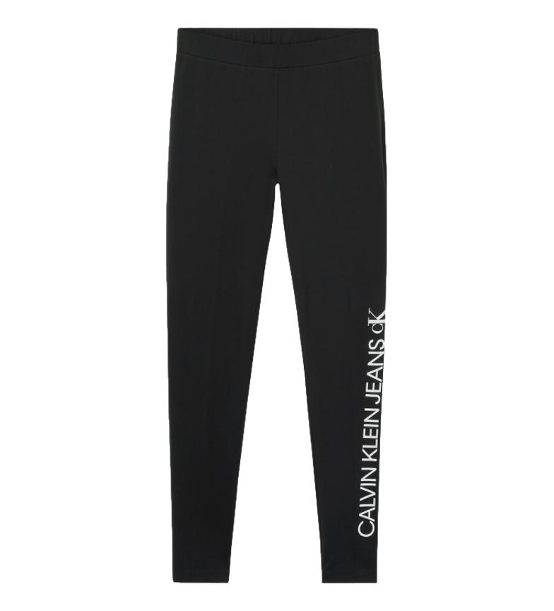Comprar Calvin Klein Leggings con logo specchiato neri