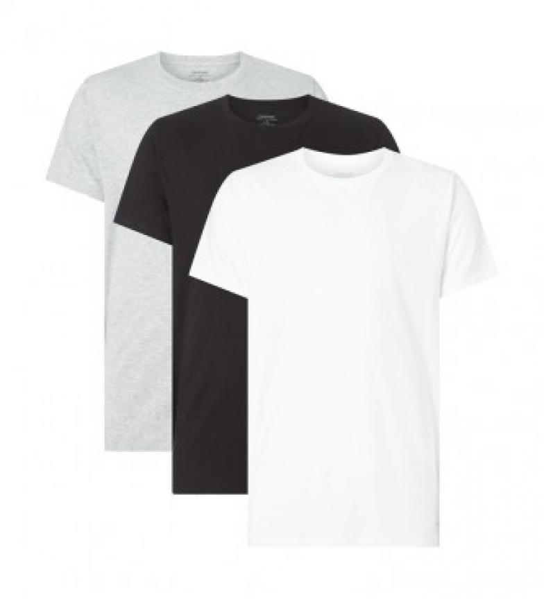 Comprar Calvin Klein Pack de 3 camisetas Cotton Classics blanco, negro, gris