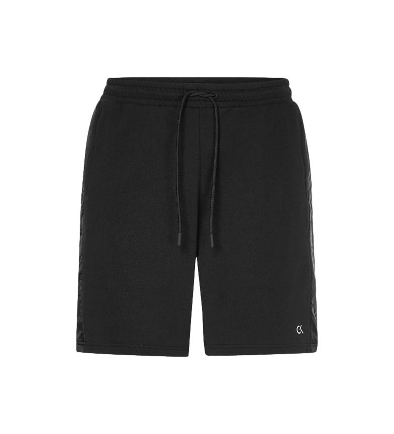 Calvin Klein Short en coton éponge Gym noir