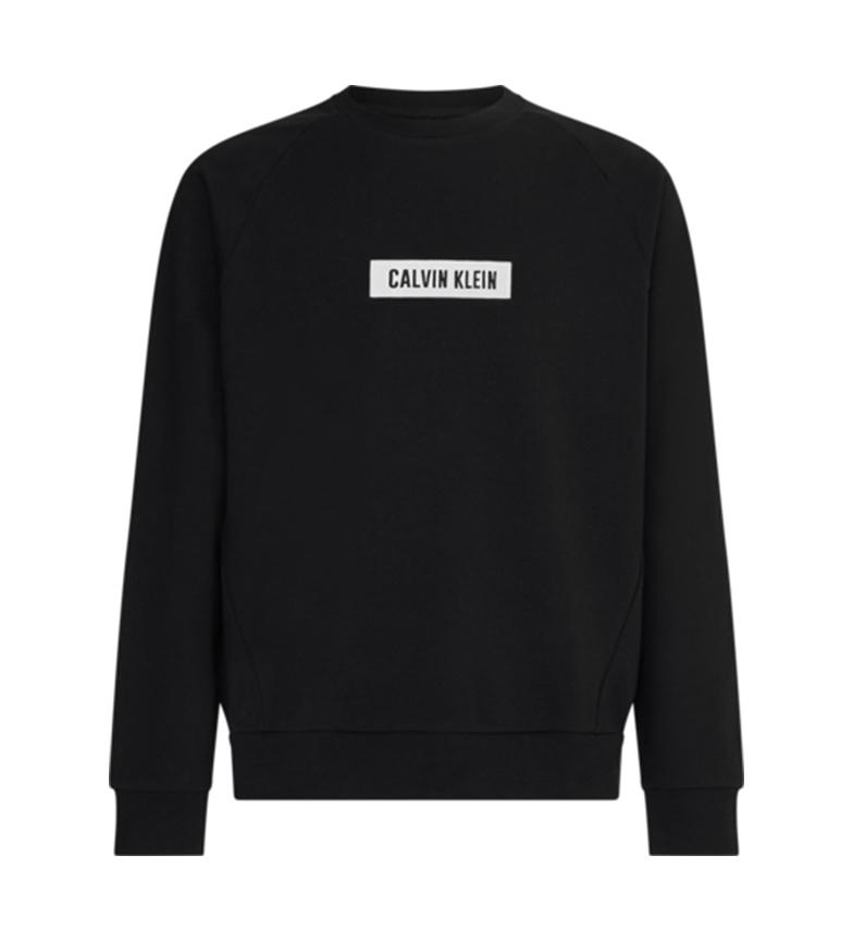 Comprar Calvin Klein Sudadera de Felpa Algodón negro