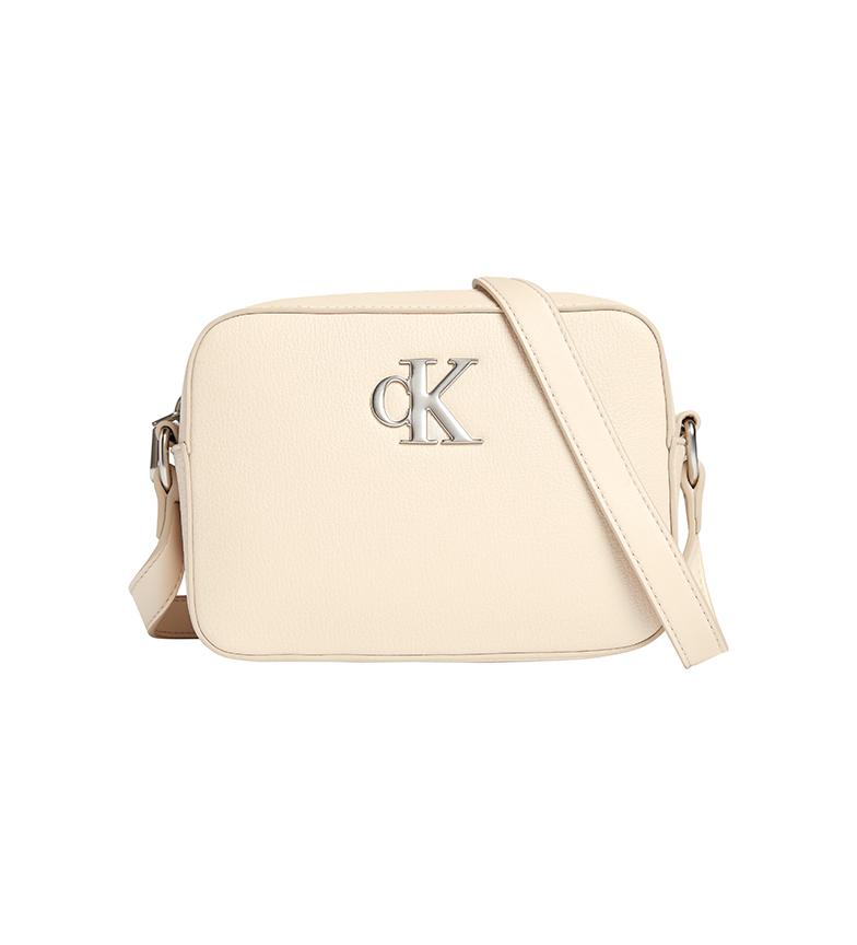 Calvin Klein Sac à bandoulière recyclé K60K608699 beige -14x21x6.9cm