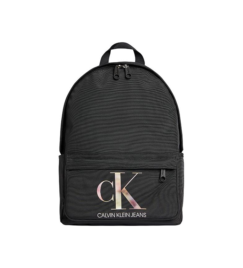 Calvin Klein Backpack Round Recycled K60K608841 black -40x27,5x13cm