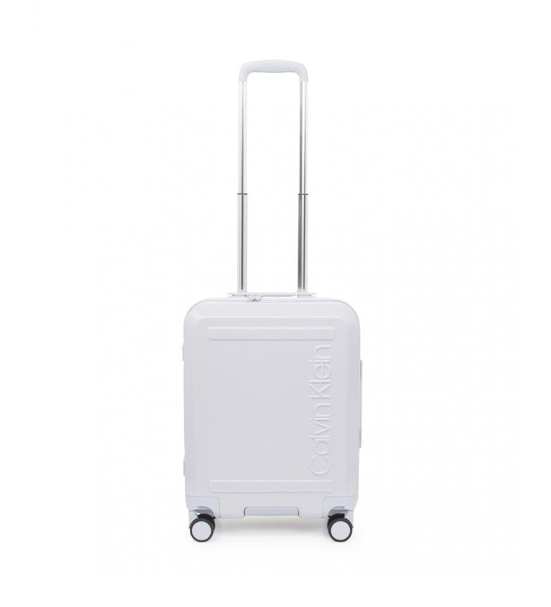 Comprar Calvin Klein Soho cabin white suitcase -52x39x20,3cm