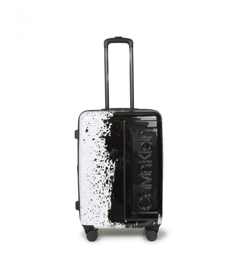 Comprar Calvin Klein A mala média de fábrica preta, branca -67x45,5x27cm