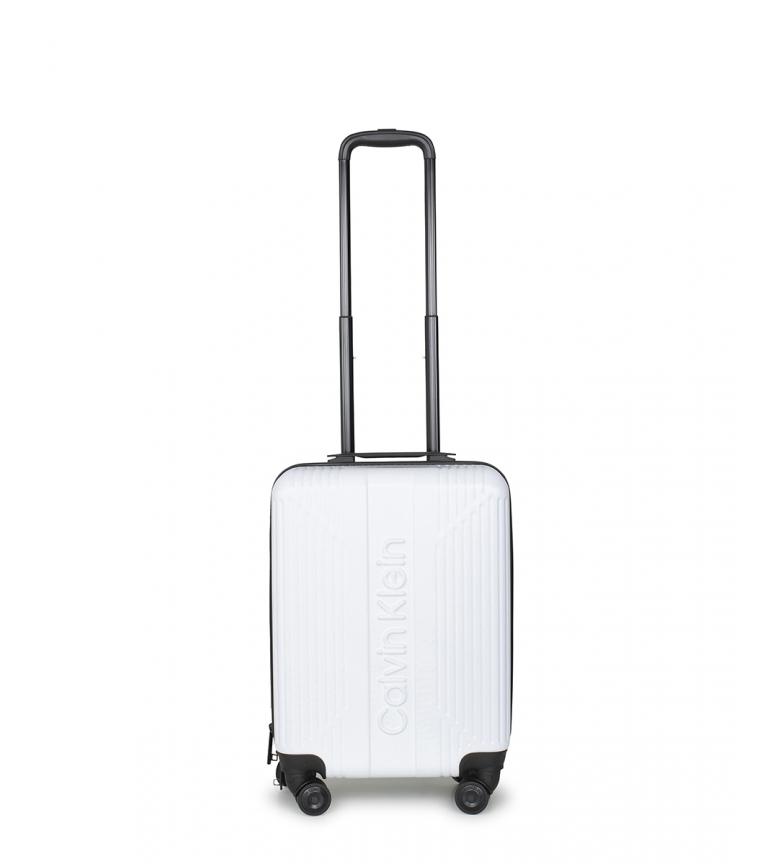 Comprar Calvin Klein Tamanho da cabine O branco padrão -55x40x22,8cm