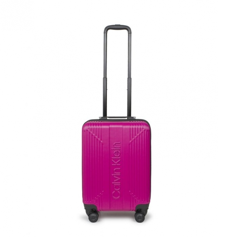 Comprar Calvin Klein La borsa da cabina standard fucsia -55x40x22,8cm