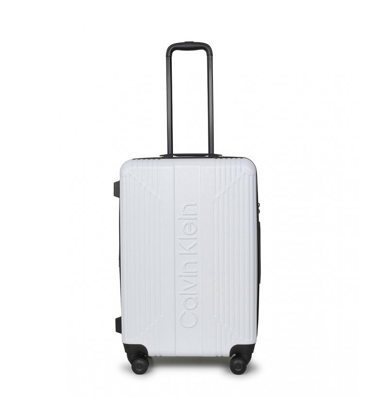 Comprar Calvin Klein Maleta mediana The Standard blanco -68x45x27,6cm-