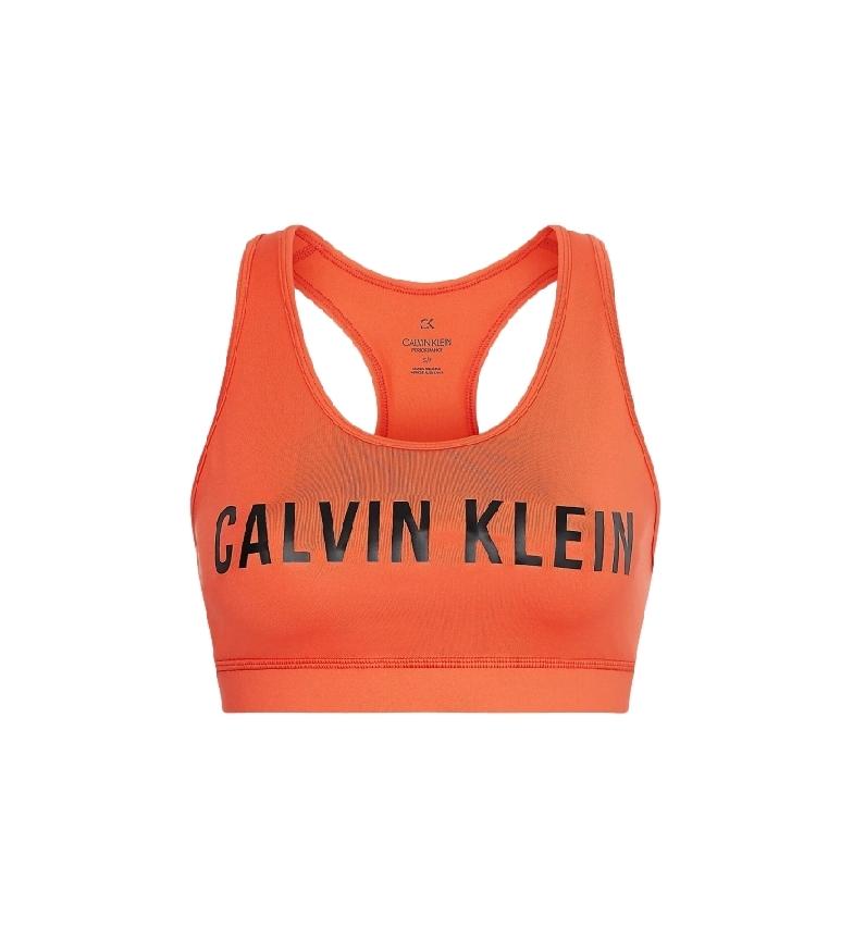 Comprar Calvin Klein Soutien-gorge de sport à impact moyen Orange
