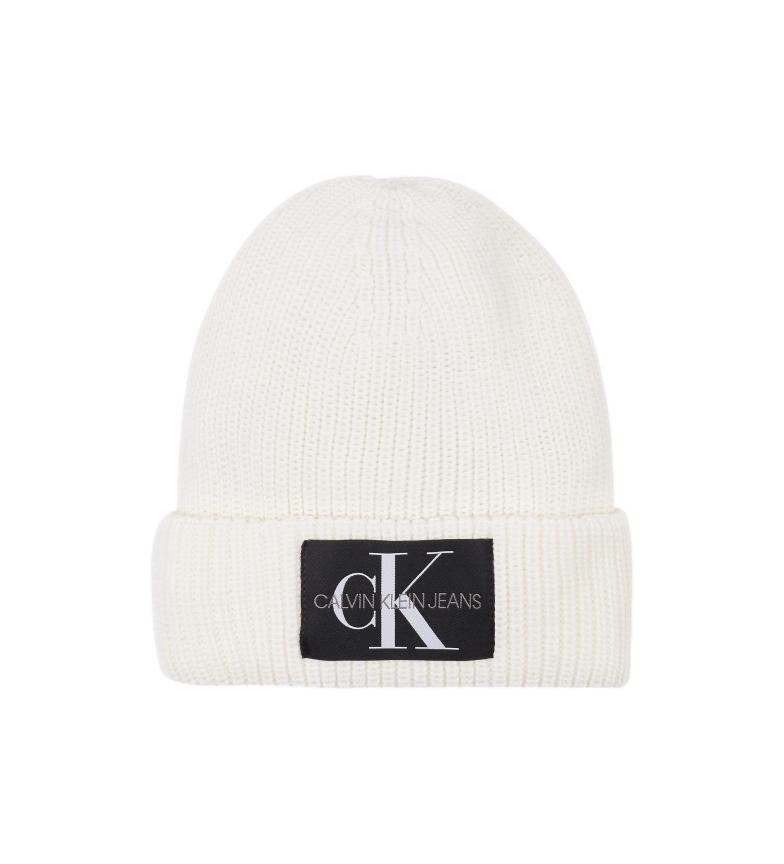 Calvin Klein Berretto in misto lana bianco
