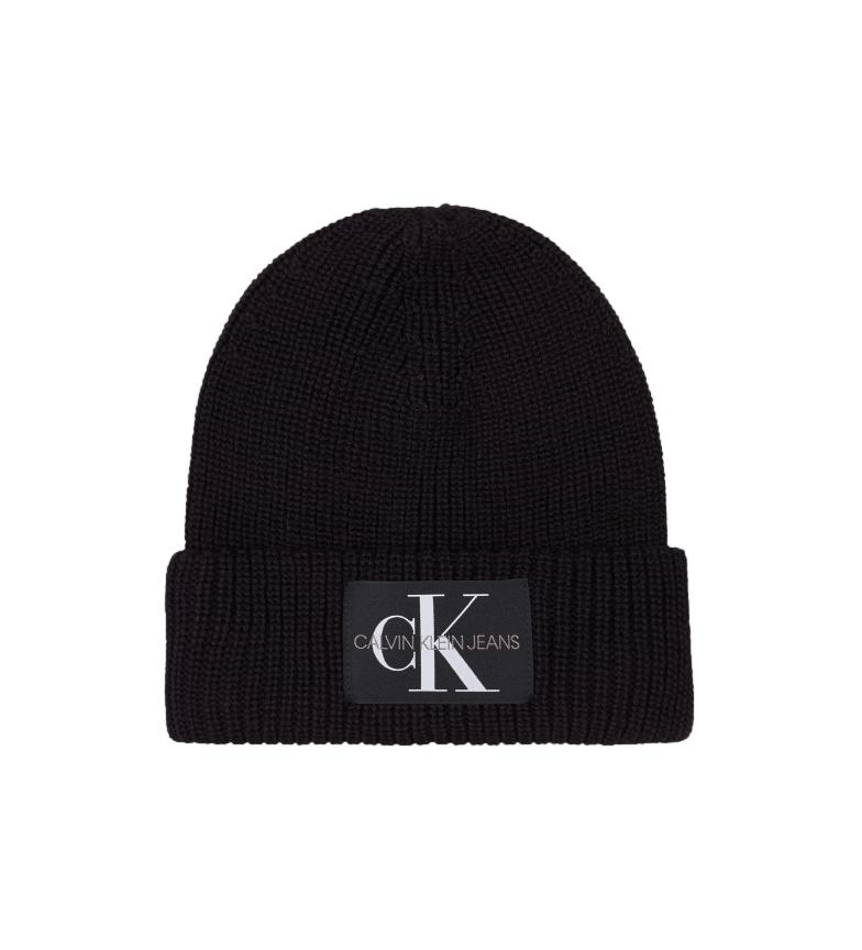 Calvin Klein Wool-Blend beanie K60K607383 black