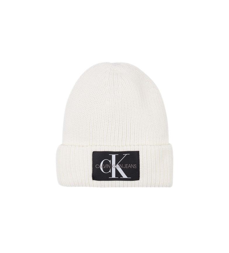 Calvin Klein Cappello in misto lana K60K607383 bianco
