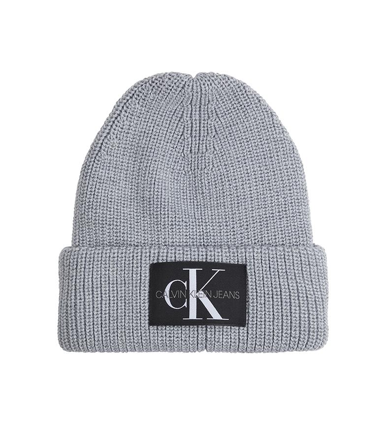 Calvin Klein Cappello in misto lana K60K607383 grigio