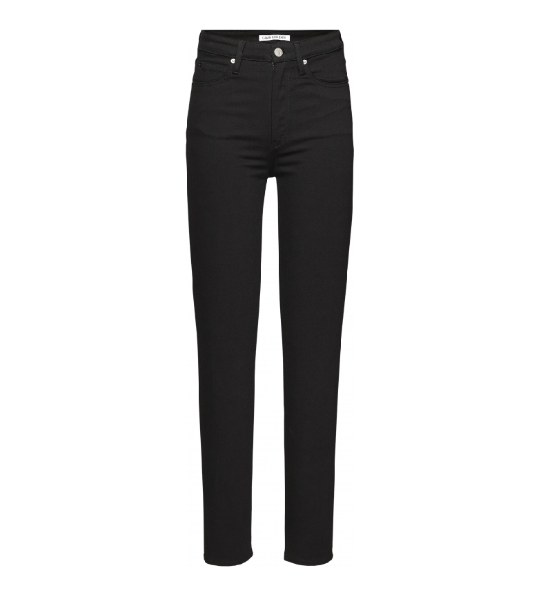 Calvin Klein Jeans High Rise Skinny black