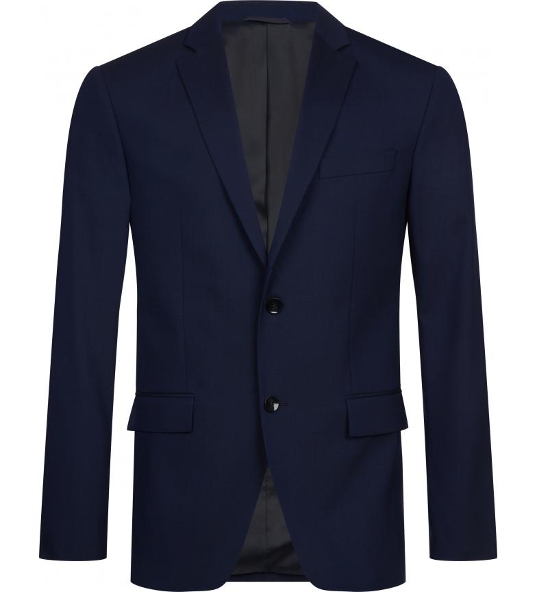Comprar Calvin Klein Americana ajustada CK azul