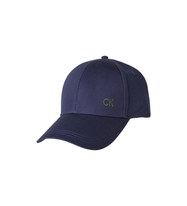 Calvin Klein Blue Baseball Cap