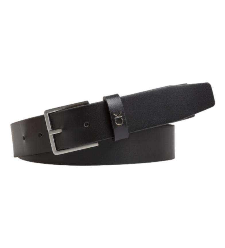 Calvin Klein Cintura in pelle nera