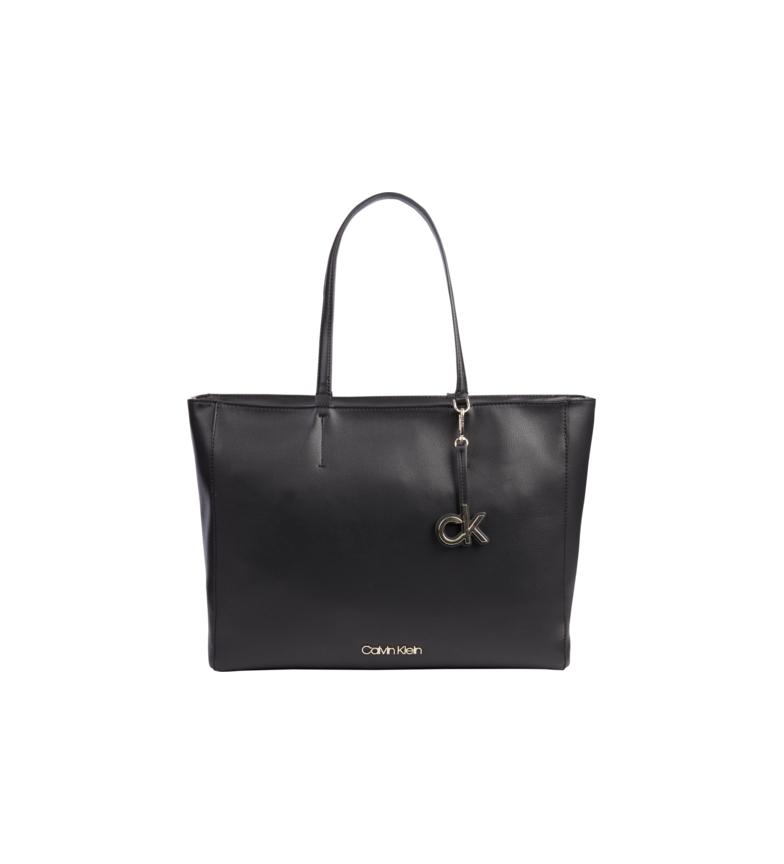 Calvin Klein Saco de compras MD preto - 29x16x38 cm