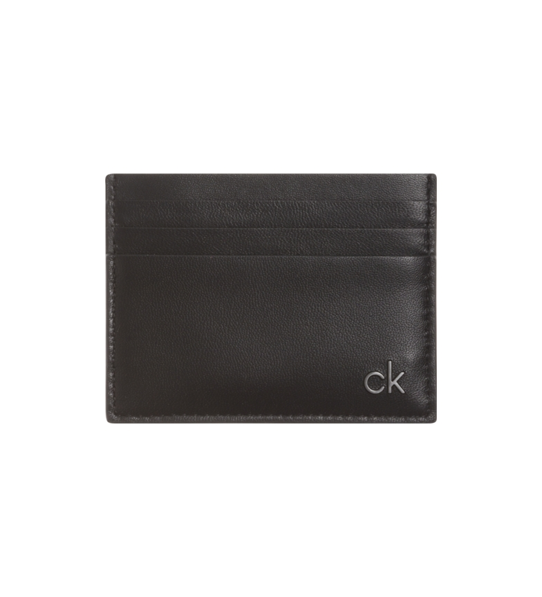 Comprar Calvin Klein Tarjetero de piel negro