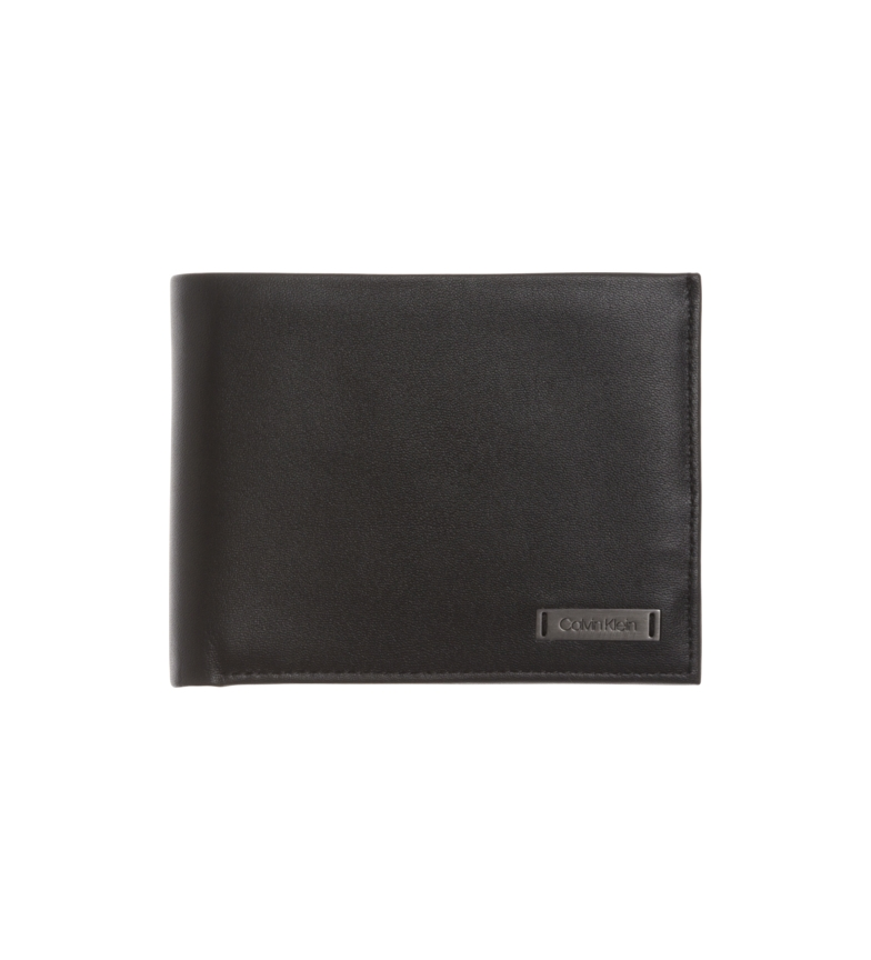 Comprar Calvin Klein Cartera de piel Smooth W negro -10 x 13 x 2 cm-