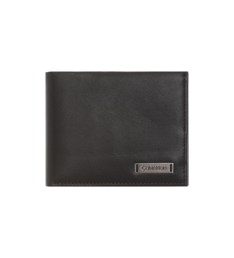 Comprar Calvin Klein Cartera Smooth W negro - 10,5 x 8,6 x 2 cm-
