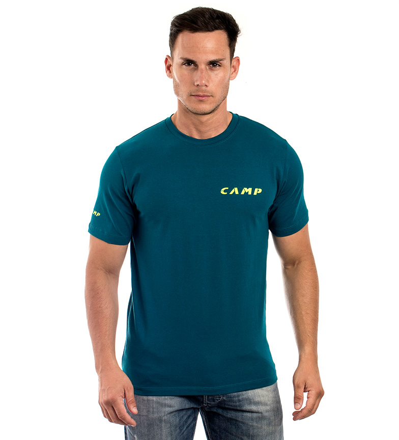 Comprar CAMP Camiseta Camp Institutional azul-verde
