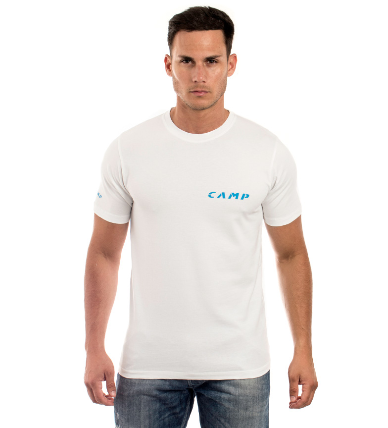Comprar CAMP T-shirt blanc Camp Institutional