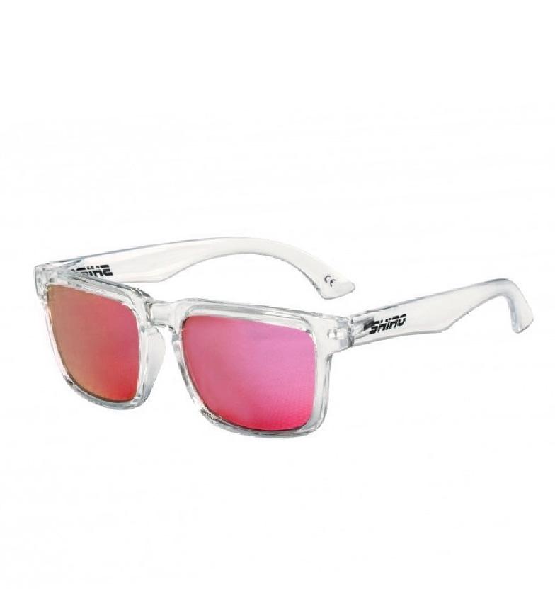 Comprar SHIRO HELMETS Gafas de polarizadas Diamond Bur transparente purpura