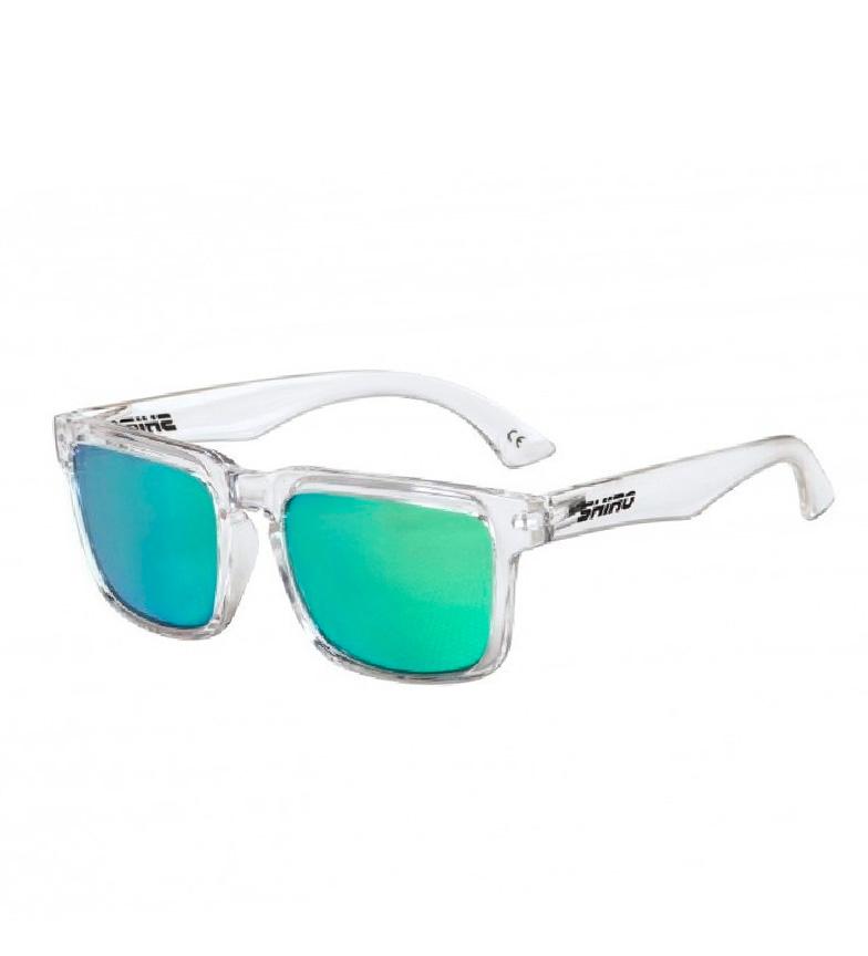 Comprar SHIRO HELMETS Occhiale polarizzato Diamond Bur verde trasparente