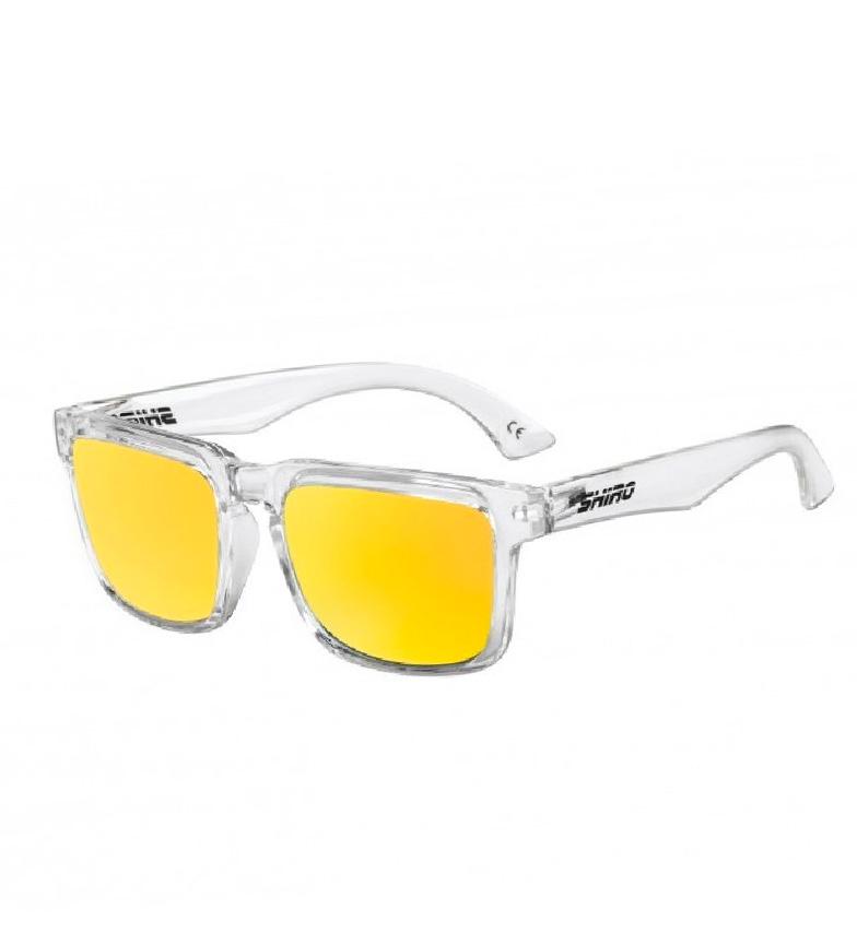 Comprar SHIRO HELMETS Occhiale polarizzato in oro trasparente con diamanti Burst