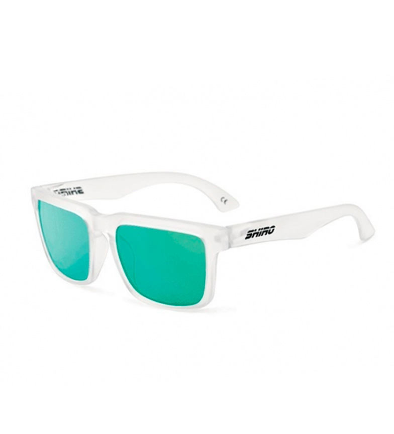 Comprar SHIRO HELMETS Diamond Burst transparent matte polarized glasses, green