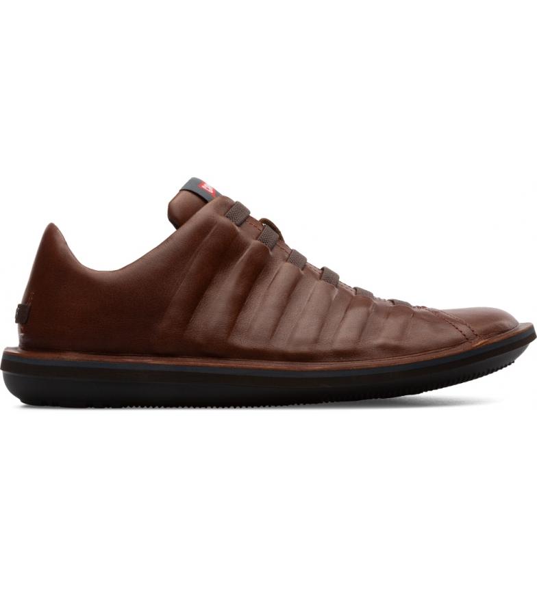 Comprar CAMPER Brown Beetle leather slippers